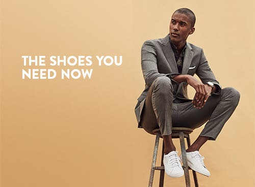 The shoes you need now. Shop our men's shoe guide.