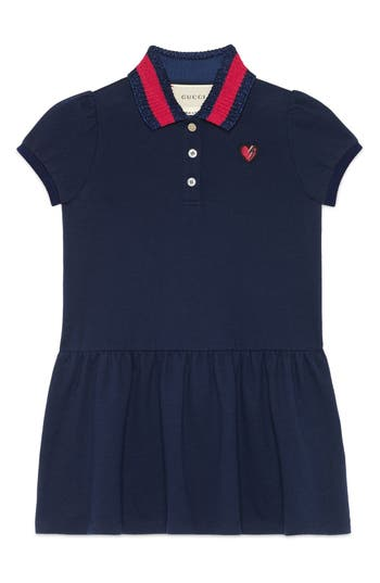 Girl's Gucci Embroidered Dress