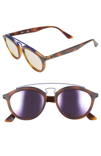 Ray-Ban Icons 5m Retro Sunglasses - Havana/ Pink