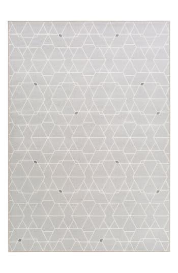 Surya Home Geometric Rug, Size Swatch - Grey