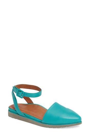 Women's L'Amour Des Pieds Madolen Strappy Flat, Size 6.5 M - Blue/green