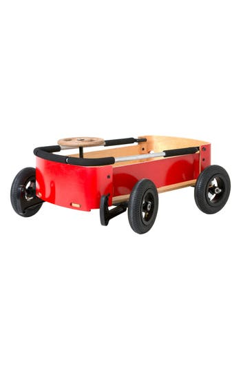 Wishbone Design Studio Steered Birchwood Convertible Wagonsoapbox Racer Toy