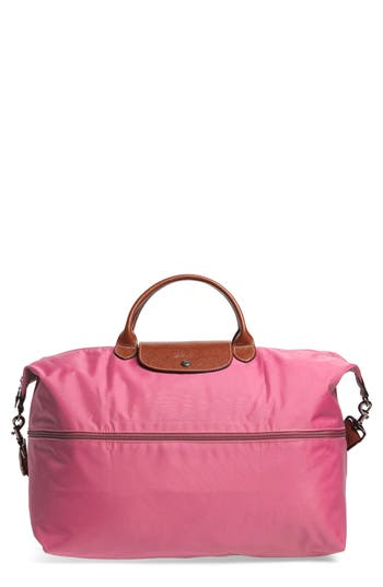 Longchamp 'Le Pliage' Expandable Travel Bag - Pink