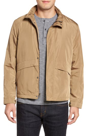 Cole Haan Trucker Jacket, Beige
