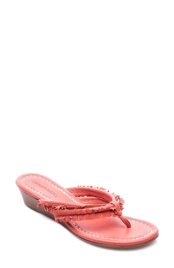 Bernardo Miami Wedge Sandal, Pink