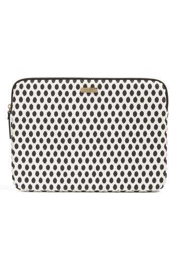 Kate Spade New York Dot 13-Inch Laptop Sleeve - Black