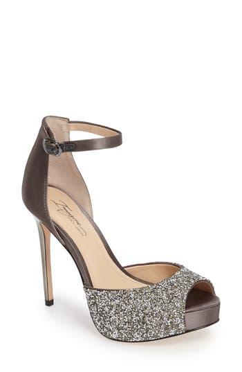 Imagine By Vince Camuto Karleigh Platform Sandal, Grey