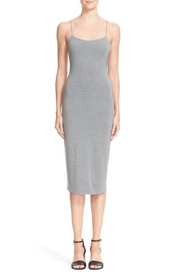 T By Alexander Wang Strappy Camisole Dress