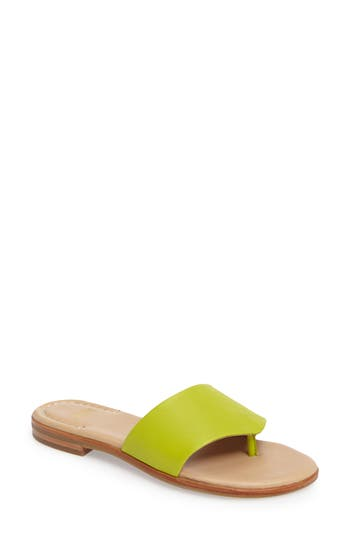 Johnston & Murphy Raney Flip Flop, Green