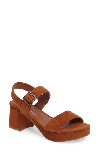 Women's Coconuts By Matisse Charger Platform Sandal, Size 8 M - Brown