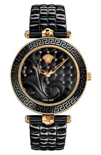 Women's Versace Vanitas Ceramic Bracelet Watch, 40Mm