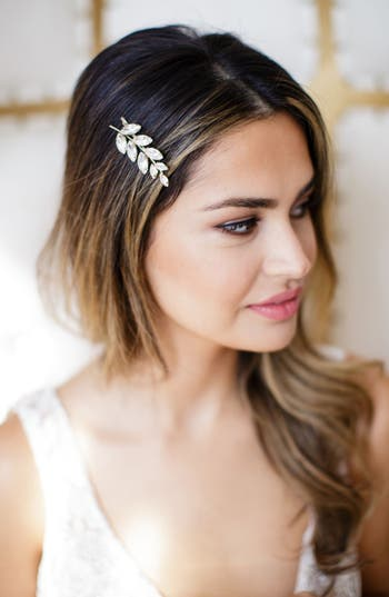 Brides & Hairpins Adele Bobby Pin, Size One Size - Metallic