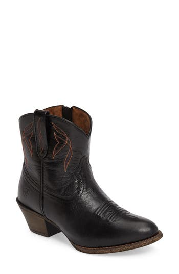 Ariat Darlin Short Western Boot- Black