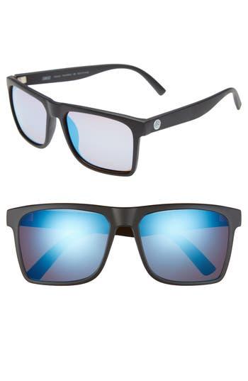 Men's Sunski Taraval 55Mm Polarized Sunglasses - Black / Aqua