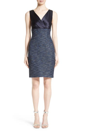 Women's St. John Collection Alisha Sparkle Tweed Dress