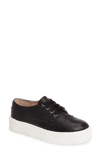 Shellys London Dilys Platform Sneaker Black