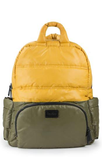 Infant 7 A.m. Enfant Bk718 Water Repellent Diaper Backpack - Green