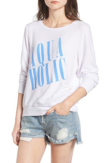 Women's Wildfox Aquaholic Sweatshirt