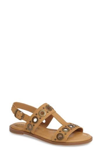 Lucky Brand Ansel Grommet Sandal, Beige