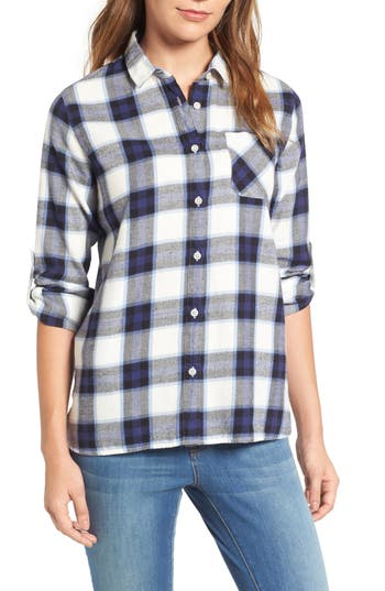 Women's Barbour Headland Check Roll Sleeve Shirt
