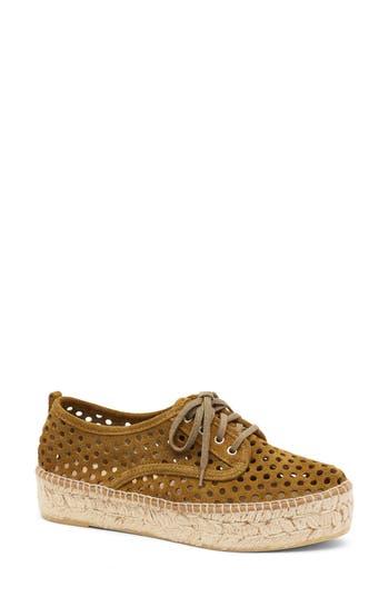 Loeffler Randall Alfie Espadrille Sneaker, White