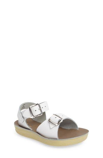 Girls Salt Water Sandals By Hoy Surfer Sandal Size 1 M  White