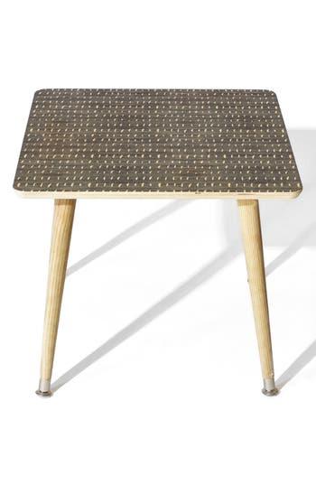 Deny Designs Denim Rain Side Table, Size One Size - Blue