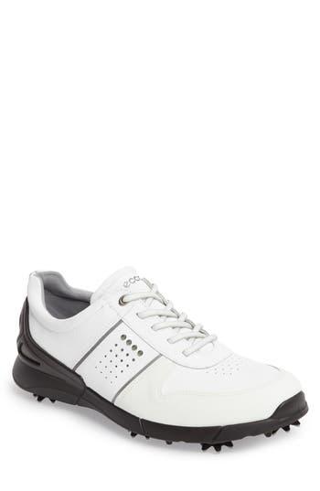 Ecco Base One Golf Shoe,8.5 - White