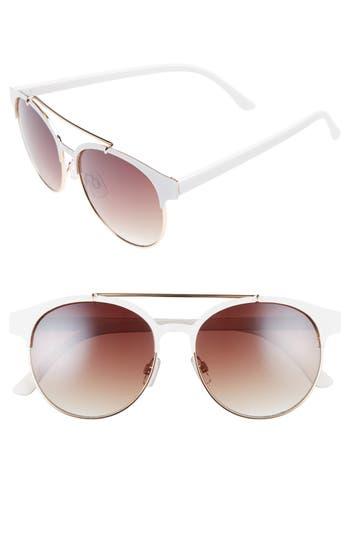 Women's Bp. 55Mm Round Sunglasses -