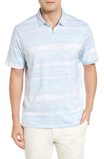 Men's Tommy Bahama Leaf On The Water Piqué Polo