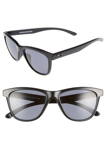 Oakley Moonlighter 5m Sunglasses - Polished Black/ Grey