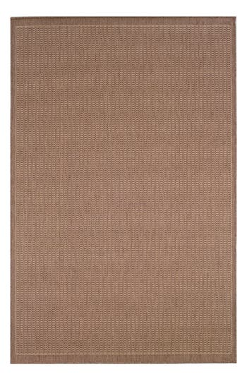 Couristan Saddlestitch Indoor/outdoor Rug, ft 0in x 4ft 0in - Brown