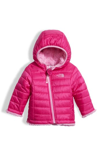 Infant Girls The North Face Mossbud Reversible Water Repellent Jacket