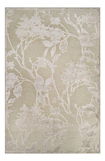 Couristan Cire Blossom Area Rug, ft 1in x 3ft 7in - Beige