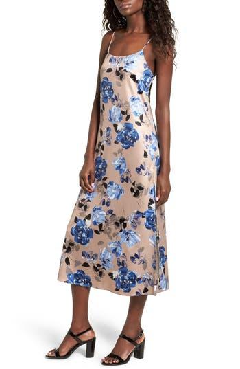Women's Nbd Landon Floral Midi Slipdress