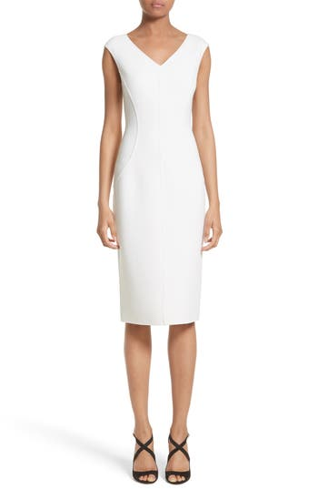 Michael Kors Stretch Boucle Sheath Dress