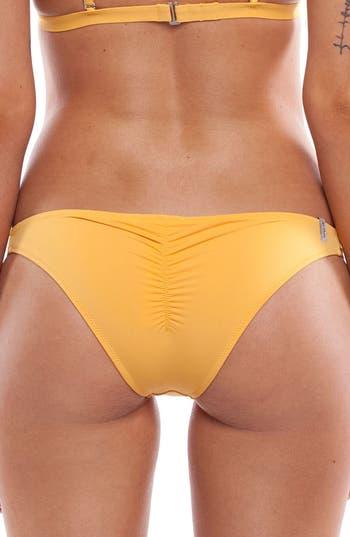 Women's Rhythm My Cheeky Bikini Bottoms, Size X-Small - Orange