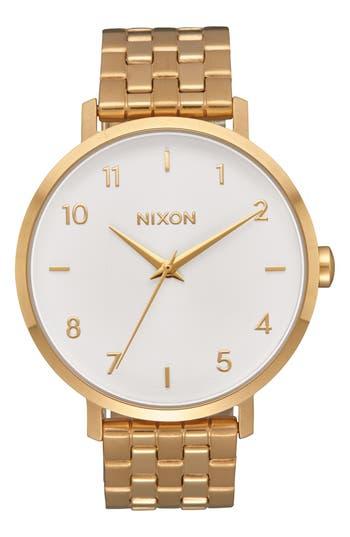 Women's Nixon The Arrow Bracelet Watch, 38Mm