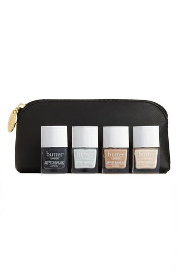 Butter London Cool Classics Patent Shine 10X Nail Lacquer Set - No Color