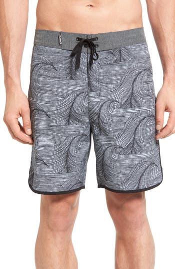 Big & Tall Hurley Phantom Brooks Board Shorts, Grey