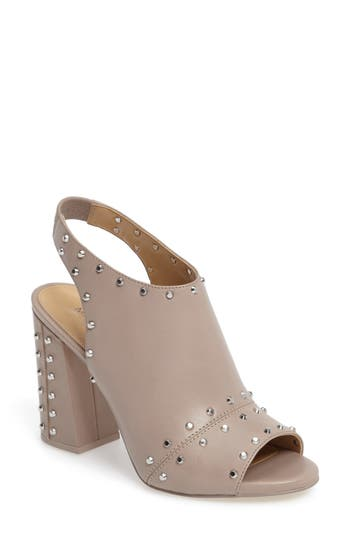 Michael Michael Kors Astor Studded Sandal, Grey