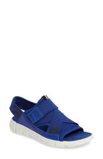 Ecco Intrinsic Sandal, Blue
