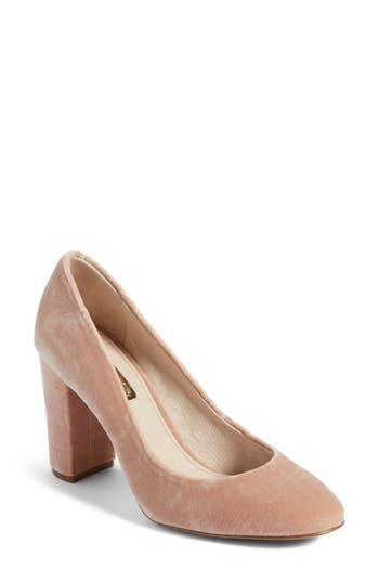 Louise Et Cie Jianna Stacked Heel Pump, Pink