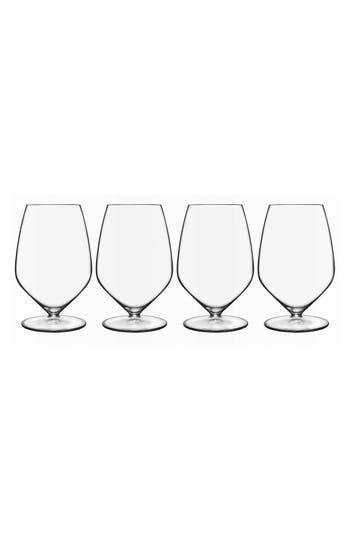 Luigi Bormioli T-Glass Set Of 4 Cabernet/merlot Glasses, Size One Size - White