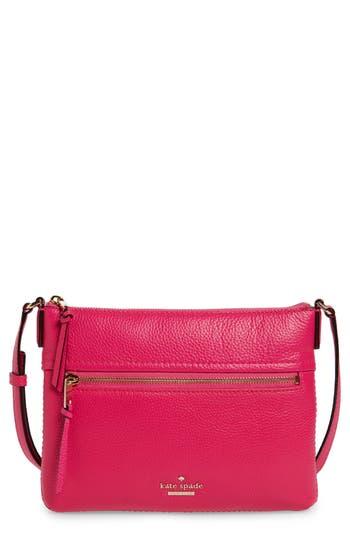 Kate Spade New York Jackson Street - Gabriele Leather Crossbody Bag - Pink