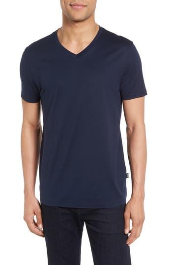Boss V-Neck T-Shirt, Blue