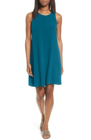 Eileen Fisher Silk A-Line Dress