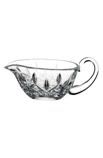 Waterford Lismore Lead Crystal Gravy Server, Size One Size - White
