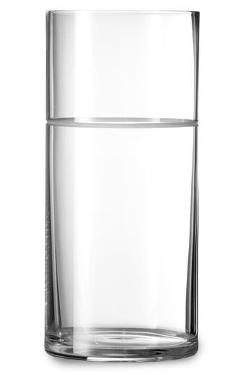 Vera Wang X Wedgwood Bande Crystal Vase, Metallic