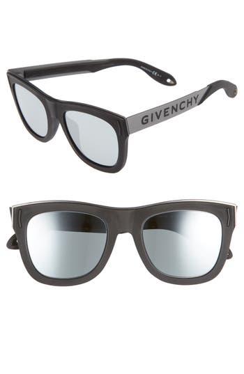 Men's Givenchy 52Mm Gradient Lens Sunglasses -
